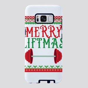 Awesome Merry Liftmas Weigh Samsung Galaxy S8 Case