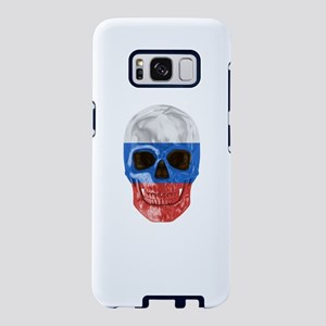 Skull Flag Of Russia Samsung Galaxy S8 Case