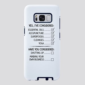 Consideration Samsung Galaxy S8 Case