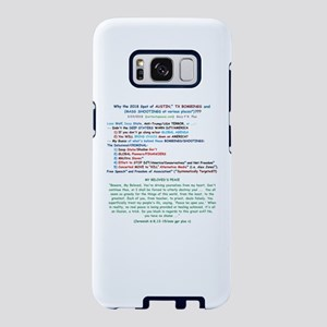 Why Bombings/Shootings? - w Samsung Galaxy S8 Case