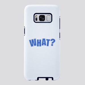 What - Purple Samsung Galaxy S8 Case