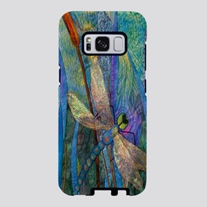 Colorful Dragonflies Samsung Galaxy S8 Case