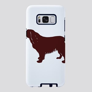 BS silhouette color Samsung Galaxy S8 Case