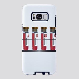 Blood Group Samples Samsung Galaxy S8 Case