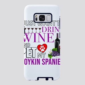 I Just Want To Drink Wine A Samsung Galaxy S8 Case