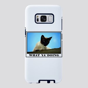 WHAT YA DOING Samsung Galaxy S8 Case