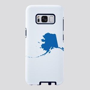 Alaska State Shape Outline Samsung Galaxy S8 Case