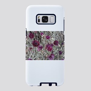 Purple flowers Samsung Galaxy S8 Case