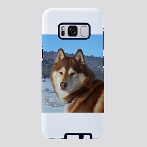 siberian husky red and white Samsung Galaxy S8 Cas