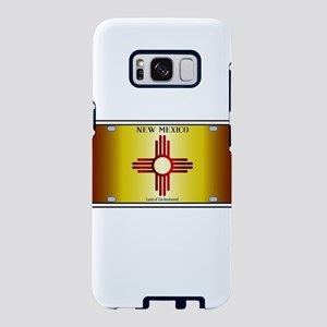 New Mexico Flag License Pla Samsung Galaxy S8 Case