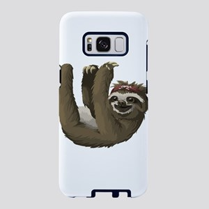 hippie sloth Samsung Galaxy S8 Case