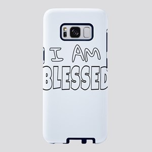 I AM BLESSED Samsung Galaxy S8 Case