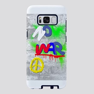 NO WAR PEACE Samsung Galaxy S8 Case