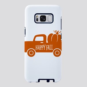 Happy Fall Old Vintage Fall Samsung Galaxy S8 Case