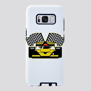 YELLOW RACECAR Samsung Galaxy S8 Case