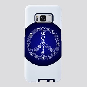 coexist/peace Samsung Galaxy S8 Case
