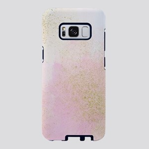 Pretty In Pink And Gold Del Samsung Galaxy S8 Case