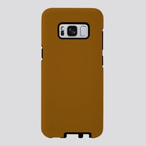 Golden Brown Samsung Galaxy S8 Case
