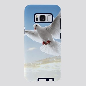 White Doves In The Sky Samsung Galaxy S8 Case