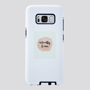 Actually I Can Samsung Galaxy S8 Case