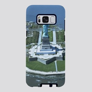 Statue of Liberty Aerial Ph Samsung Galaxy S8 Case