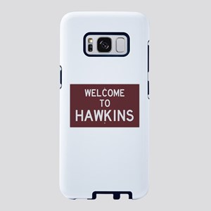 Welcome to Hawkins Samsung Galaxy S8 Case