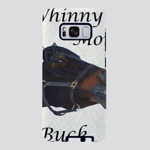 Cute Whinny More Buck Less  Samsung Galaxy S8 Case