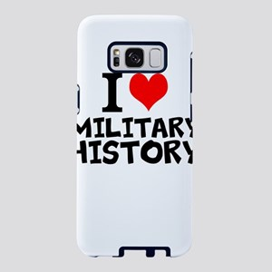I Love Military History Samsung Galaxy S8 Case