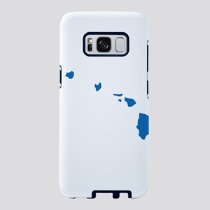 Hawaii State Shape Outline Samsung Galaxy S8 Case