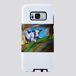 Cow! Bright, animal art! Samsung Galaxy S8 Case
