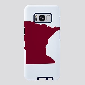 Minnesota State Shape Outli Samsung Galaxy S8 Case