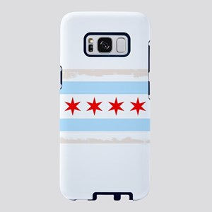 Chicago City Flag Samsung Galaxy S8 Case
