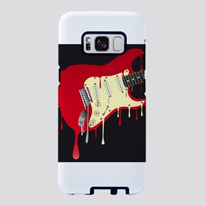 Melting Electric Guitar Samsung Galaxy S8 Case