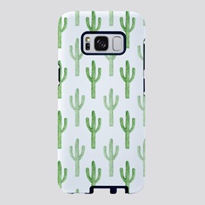 Cute Watercolor Cactus Pattern Samsung Galaxy S8 C