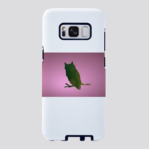 Pink Owl Cut Out Samsung Galaxy S8 Case