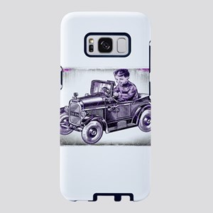 boy and his first car Samsung Galaxy S8 Case