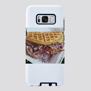 pulled pork waffle with col Samsung Galaxy S8 Case