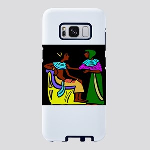 Black Egyptians Samsung Galaxy S8 Case