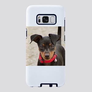 miniature pinscher black and rust Samsung Galaxy S