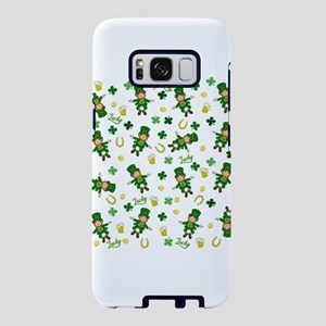 St Patricks day pattern Samsung Galaxy S8 Case
