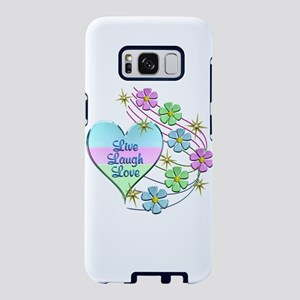 Live Laugh Love Flowing Flo Samsung Galaxy S8 Case