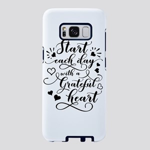 Start Each Day Samsung Galaxy S8 Case
