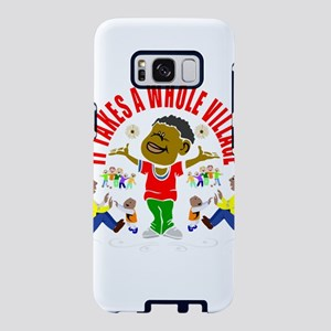 African American kids Samsung Galaxy S8 Case