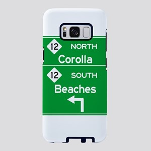 Outer Banks Route 12 Sign Samsung Galaxy S8 Case