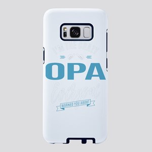 Crazy Opa Samsung Galaxy S8 Case