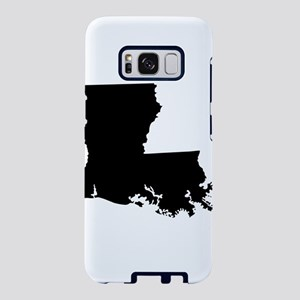 Louisiana State Shape Outli Samsung Galaxy S8 Case