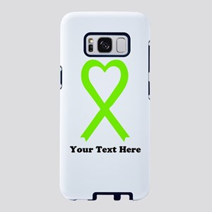 Lime Green Awareness Ribbon Samsung Galaxy S8 Case