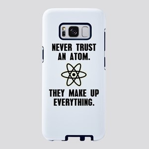 Never Trust An Atom Samsung Galaxy S8 Case