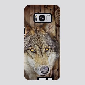 native dream catcher wolf Samsung Galaxy S8 Case