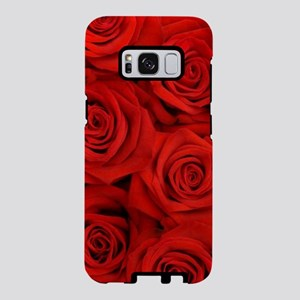 modern love red rose Samsung Galaxy S8 Case